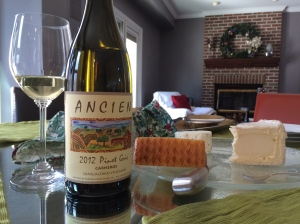 Ancien Pinot Gris 2012 Carneros Sangiacomo Vineyard
